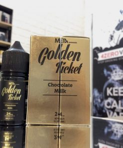 Golden ticket saltni milk chocolate