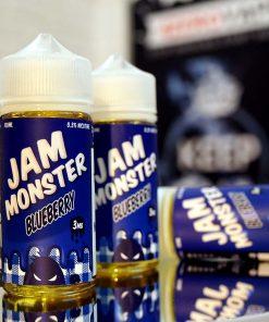 Jam monster blueberry tinh dau vape 100ml mut viet quat